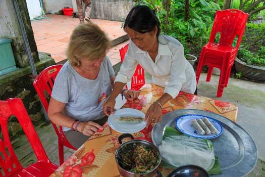 apprendre a faire le nem specialite vietnamien chez lhabitant