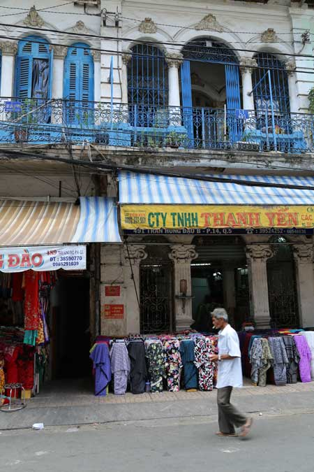 facade coloniale cho lon saigon