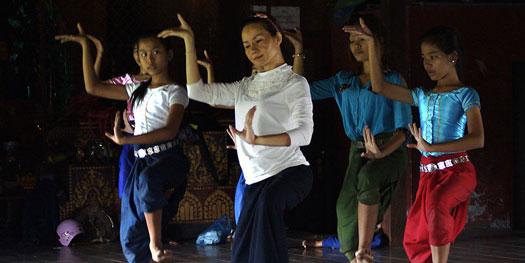 danse apsara