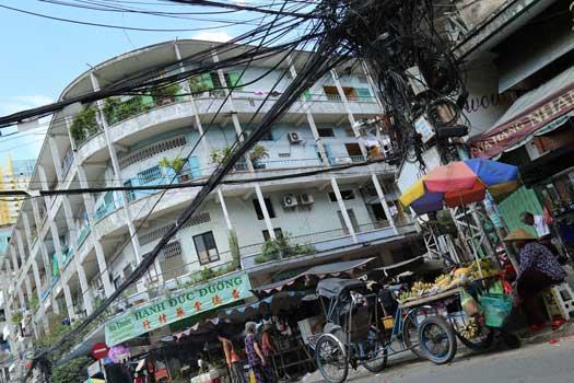 paysage urbain cho lon saigon