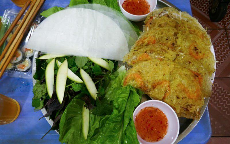 Petit déjeuner au vietnam - Banh xeo