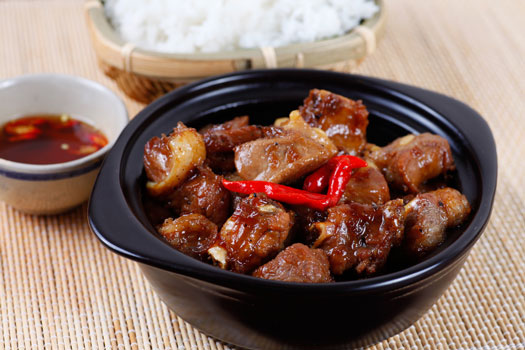 cotes sautee nuoc mam sauce poisson vietnam