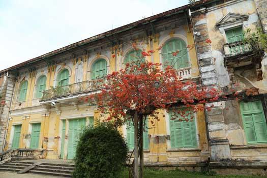 L'ancienne maison du chef de la province de Go Cong, construite en 1890
