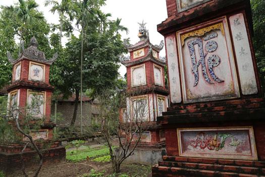 pagode ecrin vegetal dong ngac hanoi