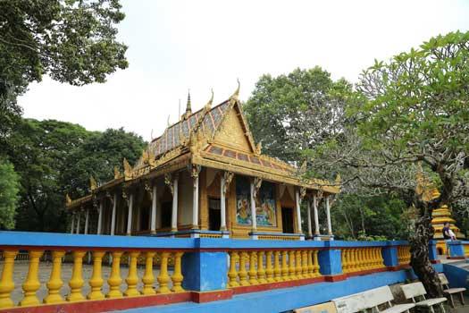La pagode Chua Doi, Soc Trang