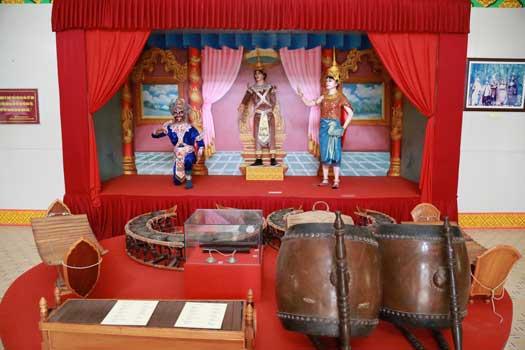 Musée sur la civilisation khmère à Tra Vinh