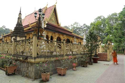 Pagode d'Ang tra vinh delta du mekong