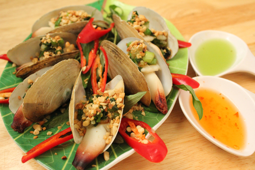 escagots de mer à Halong