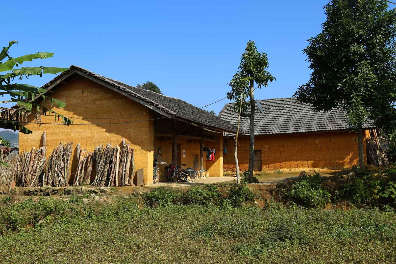 Une maison typique du village