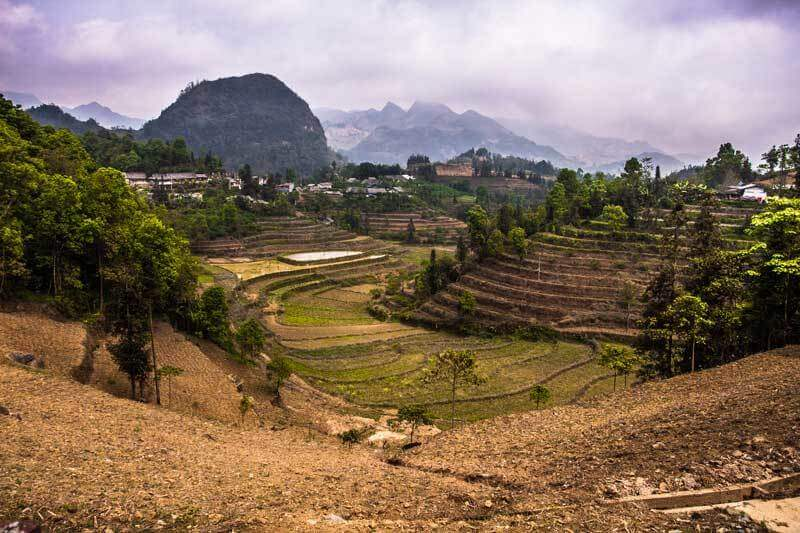 Dépaysement total dans la région montagneuse au Nord du Vietnam
