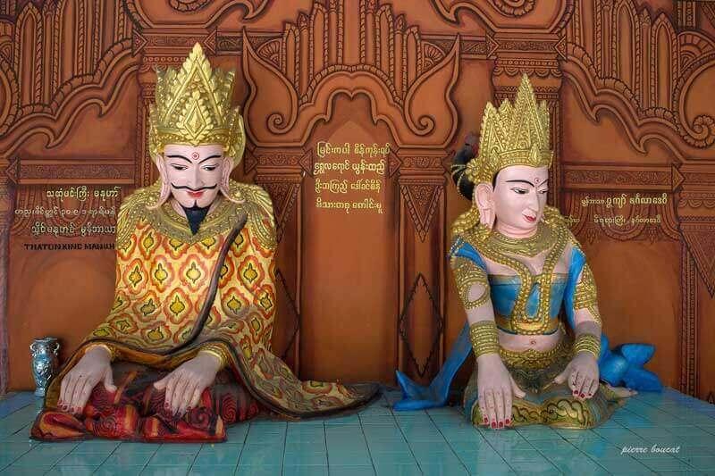 Les statues bouddhistes