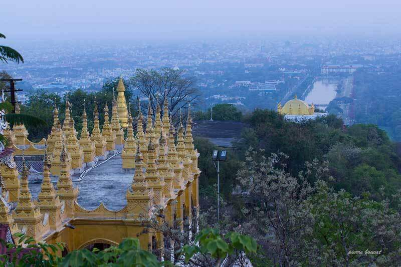 Panorama de Mandalay