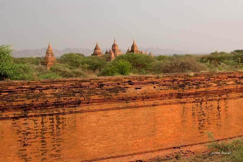 Les sanctuaires de Bagan