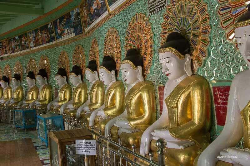 Pagode à Sagaing