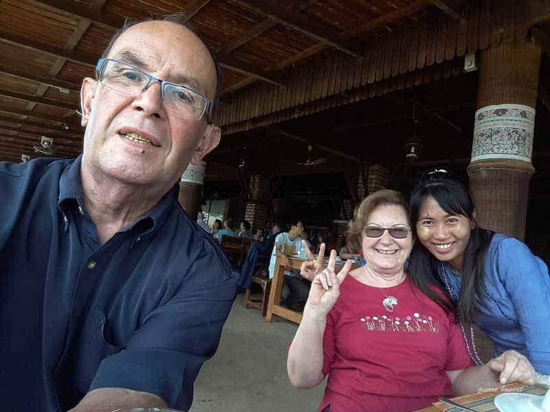 Nous avons des souvenirs inoubliables en Birmanie