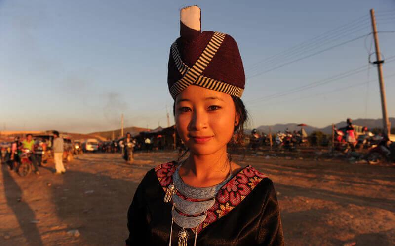 Femme Hmong au Laos